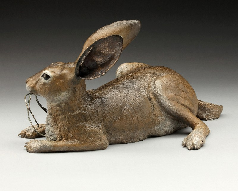Jack Rabbit Sculpture 2 - Diane Mason - Just Jack
