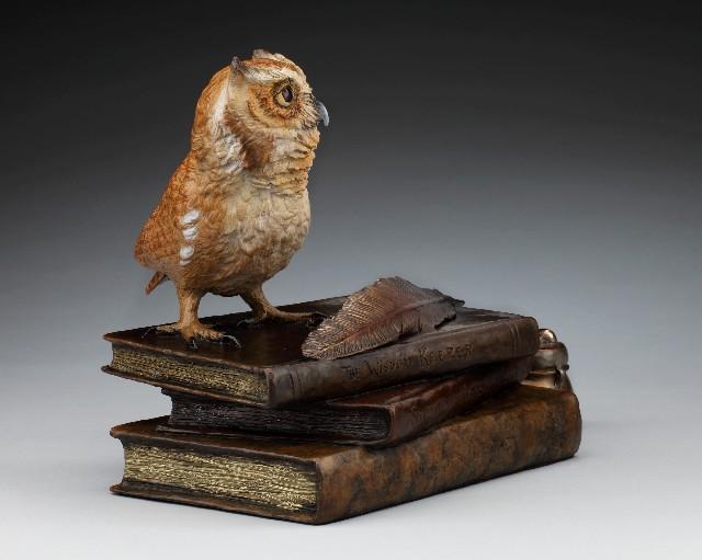 The Wisdom Keeper - DIane Mason - Screech Owl