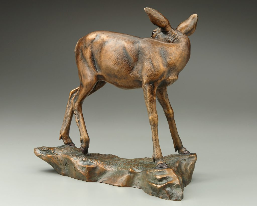 Beauty Bath - DIane Mason - Mule Deer Doe