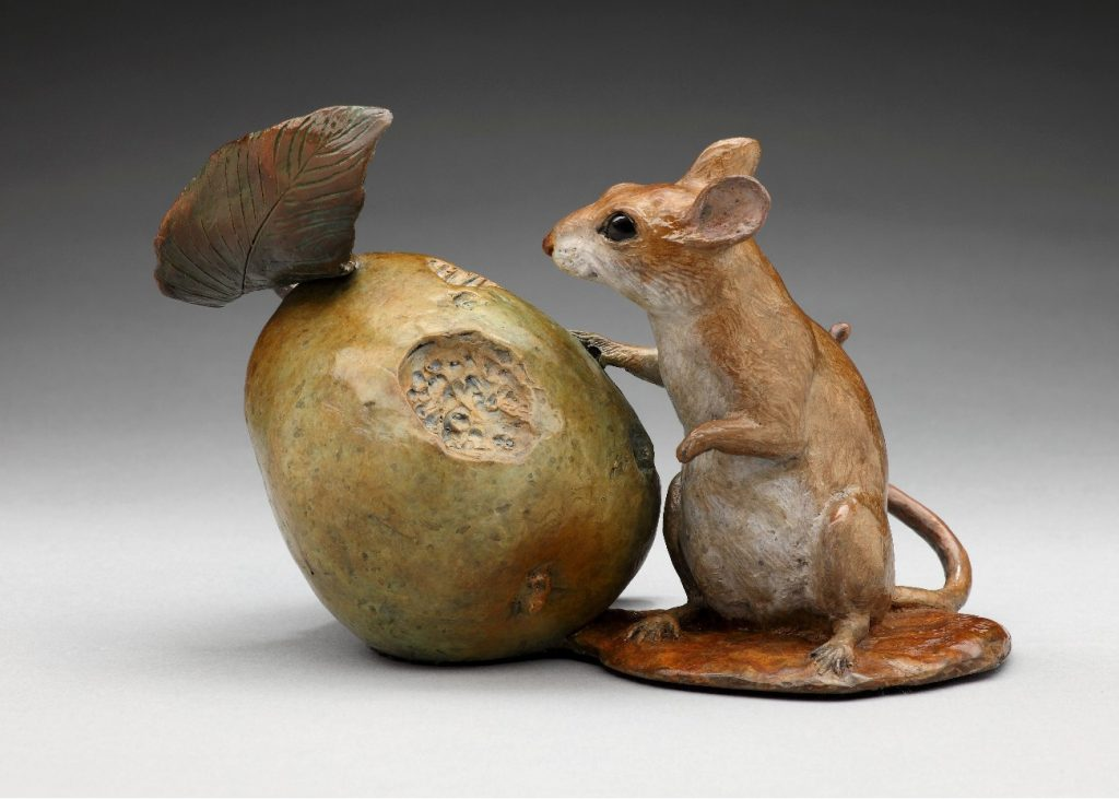 Bounty From Above - DIane Mason - Mouse and Pear