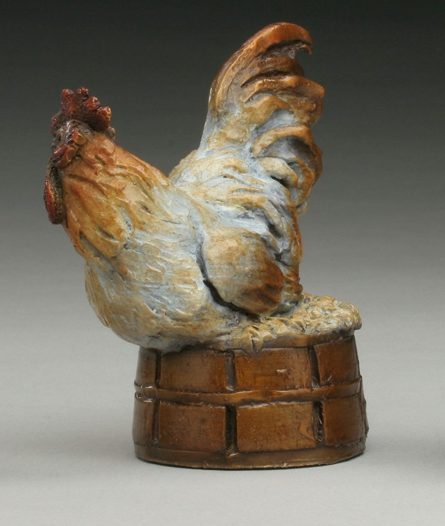 Chicken on a Basket - Diane Mason - Chicken and Basket