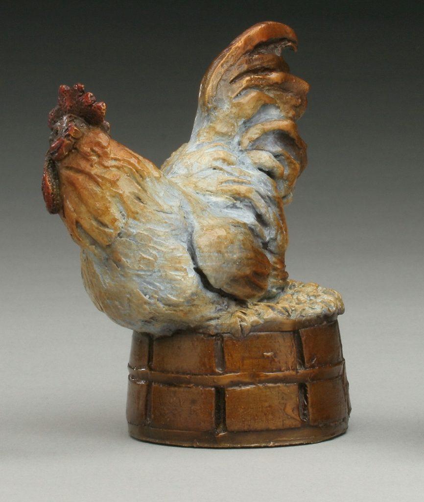 Chicken on a Basket - Diane Mason - Chicken and Basket