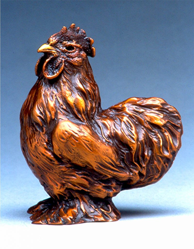 Cochin Rooster - DIane Mason - Cochin Rooster