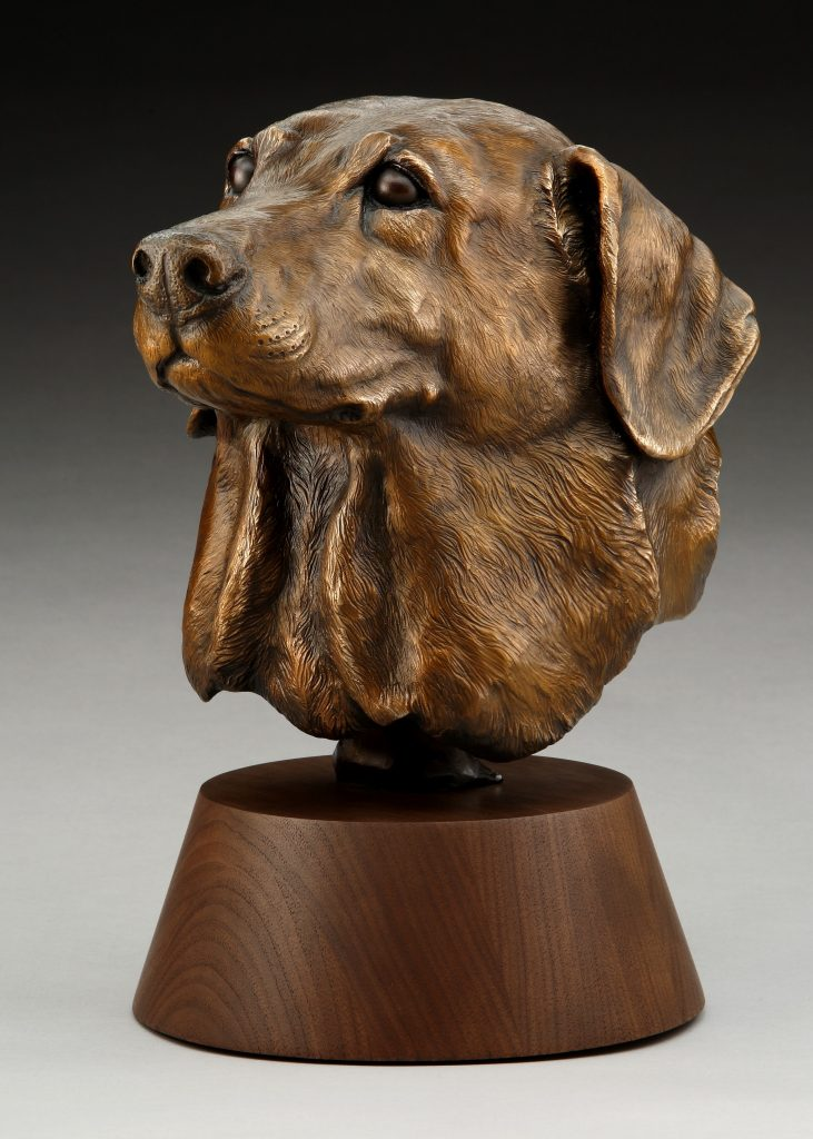 Devoted - DIane Mason - Labrador Retriever Bust