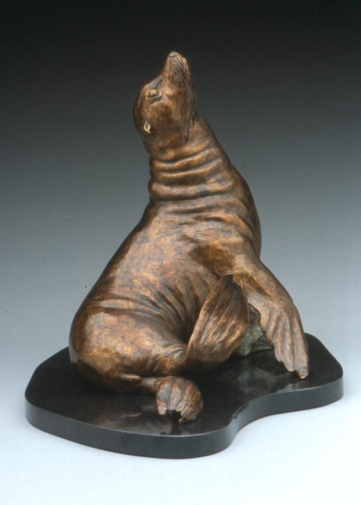 Just Kickin' Back - DIane Mason - Sea Lion