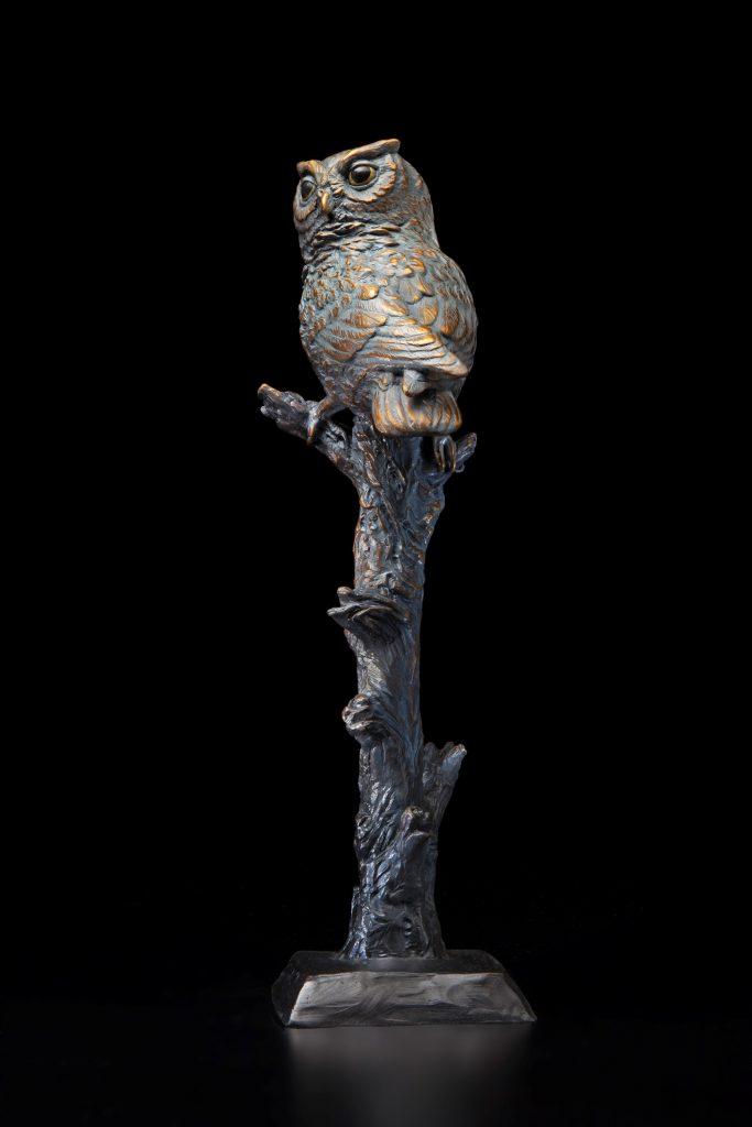 Silent Sentinel - DIane Mason - Screech Owl