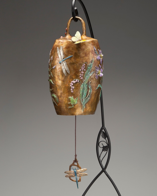 Nature's Garden View - Diane Mason - Bronze Bell